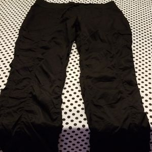North Face Athletic pants in Black
